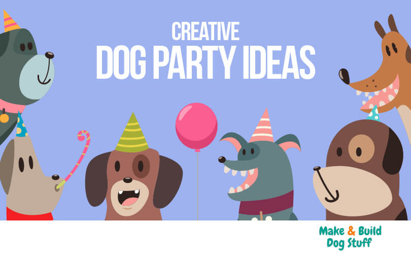A collection of creative dog party ideas.