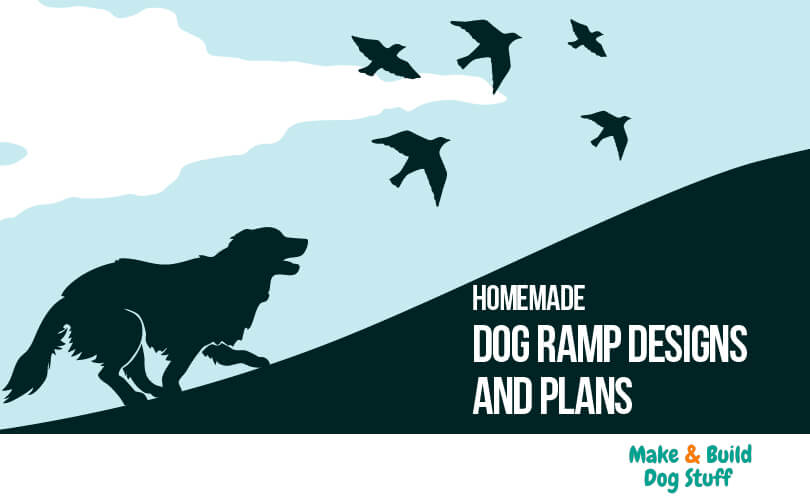 Get plans and designs for dog ramps