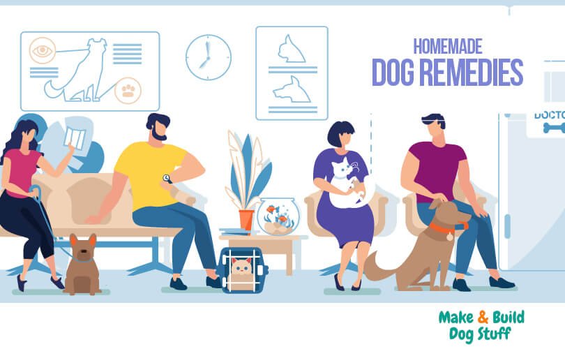 A collection of homemade dog remedies