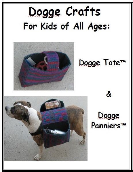 Dog tote and panniers PDF.