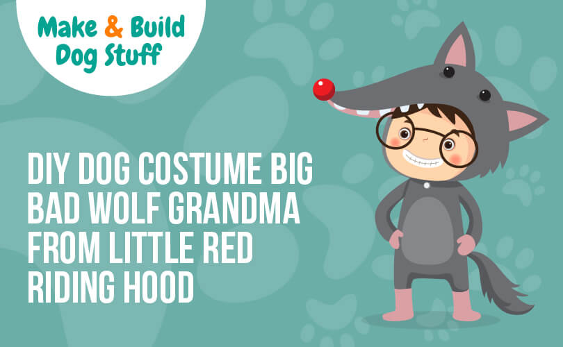 An animated picture of someone dressed up in a wolf costume