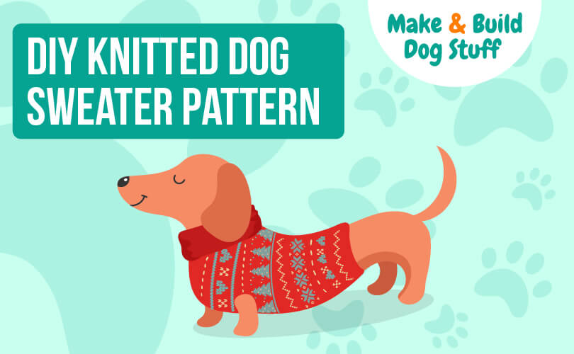 A DIY dog sweater pattern