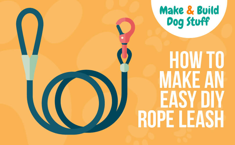 An animated picture of a rope leash
