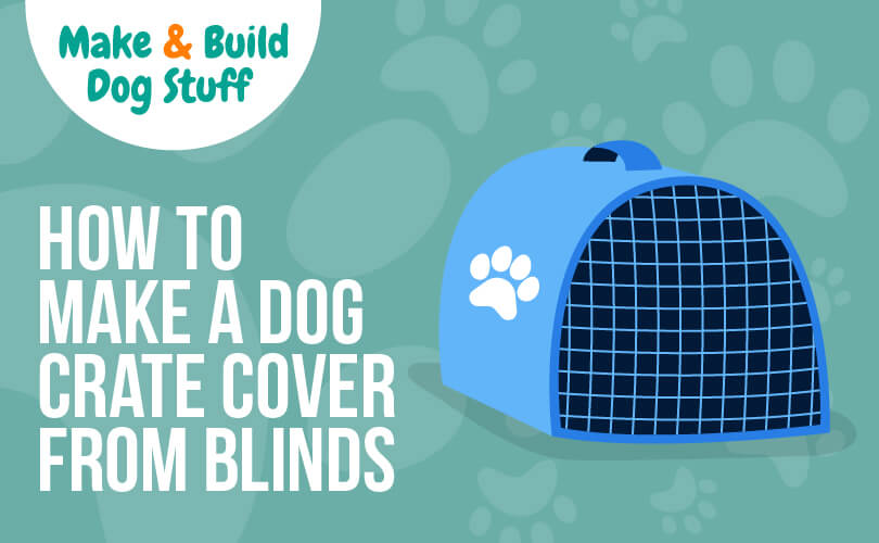 how to make a crate cover from window blinds