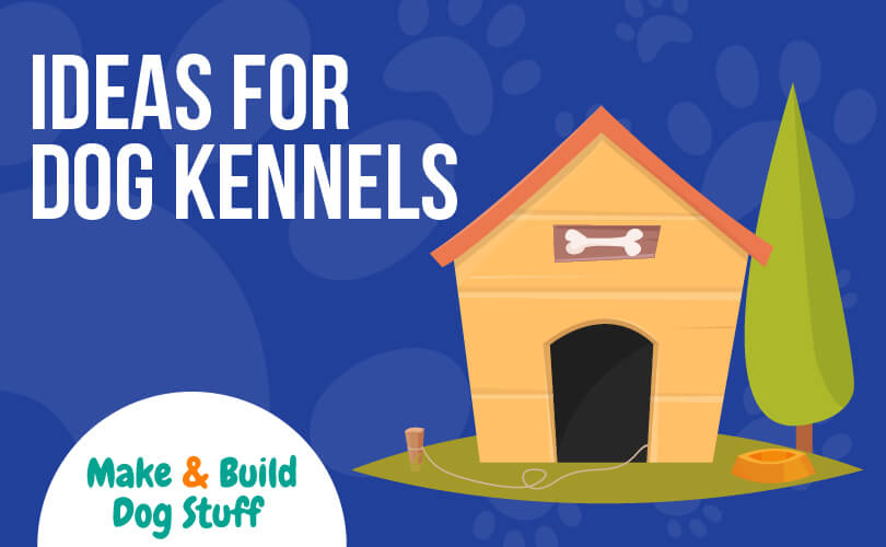A collection of different dog kennel ideas