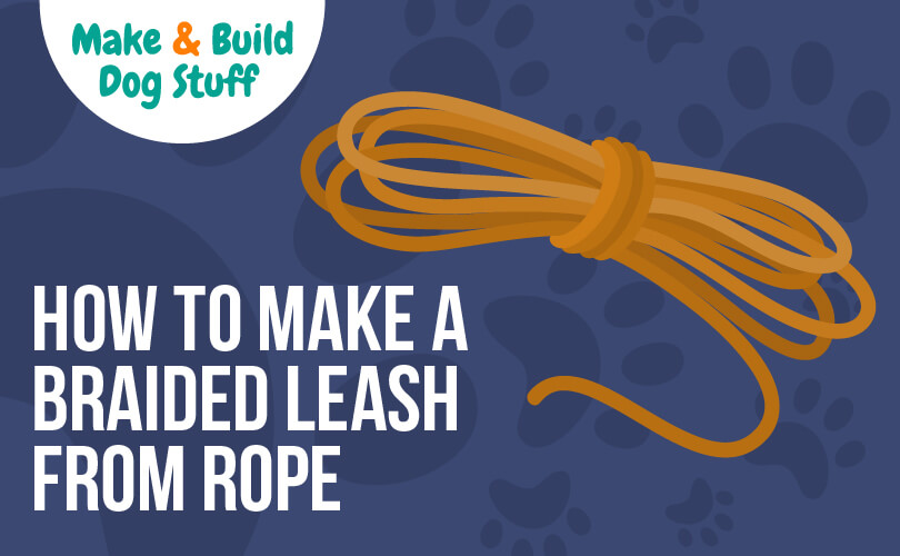 Learn to make a braided rope leash